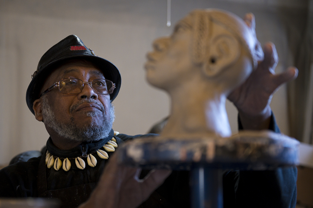 Akinsanya Kambon channels African ancestry in sculpture exhibition at the Crocker