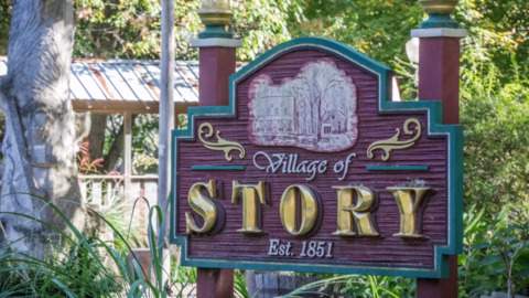 This entire Indiana town is for sale, ghost and all. See what you get for $3.8M