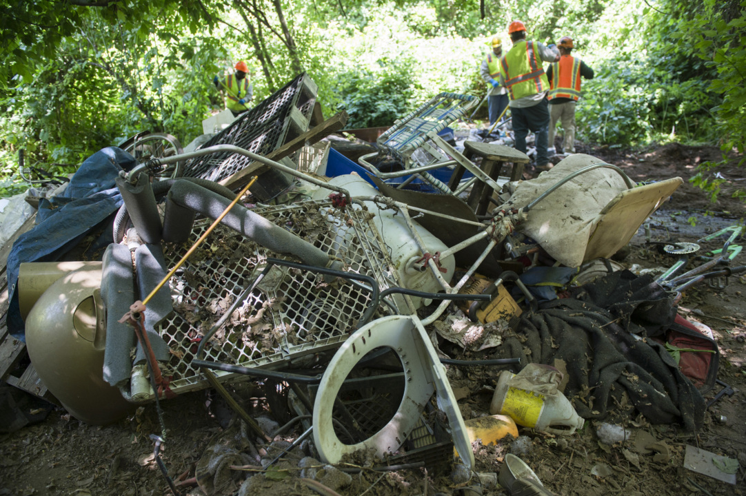 The American River Parkway is filled with your trash. Help clean it up this Saturday
