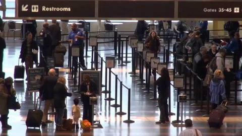 Airport traffic rebounds to levels not seen since March, TSA says