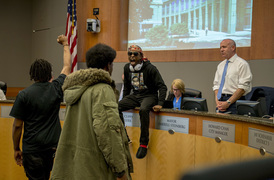 Furious brother of slain Sacramento man Stephon Clark storms the City Council meeting