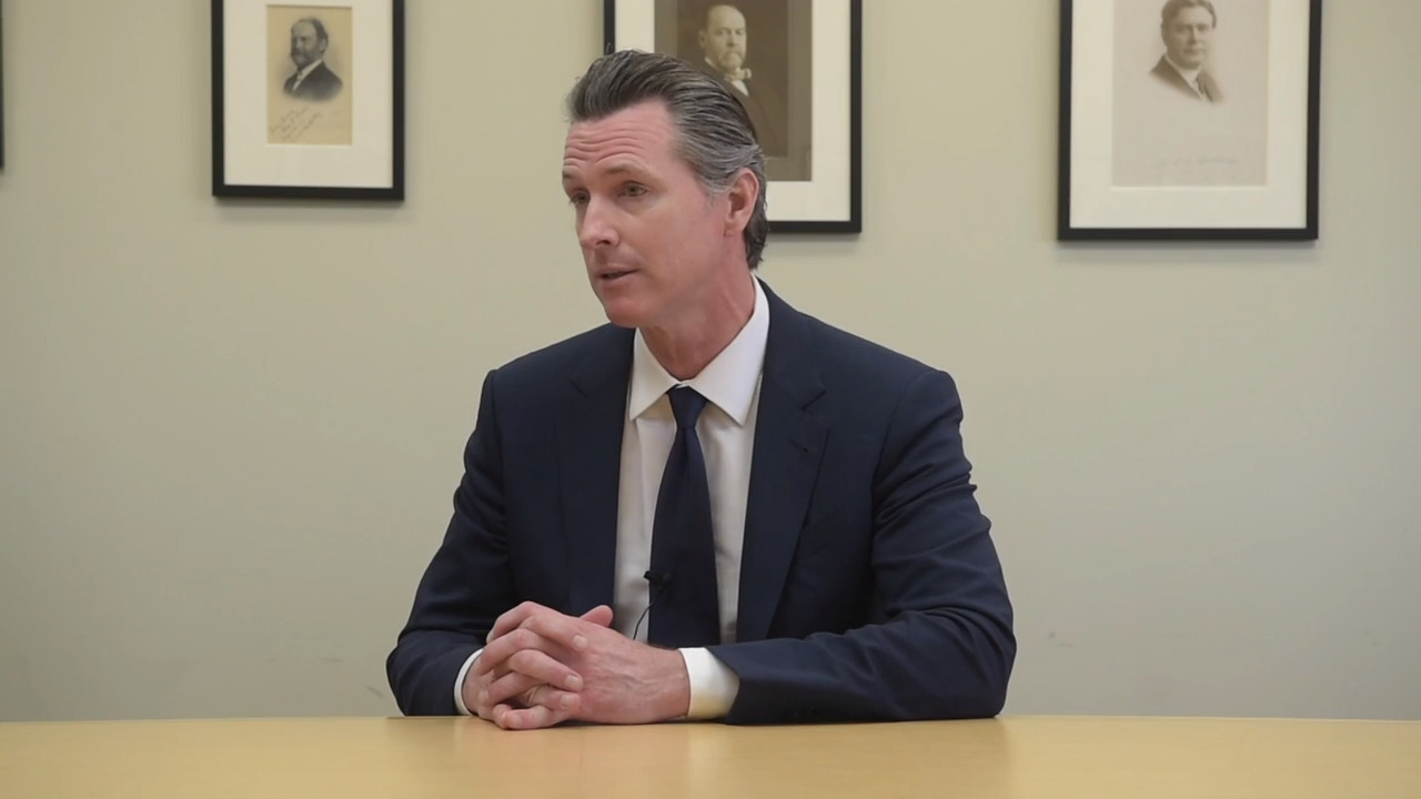 Facebook, Instagram ads target Gavin Newsom over past relationships with women