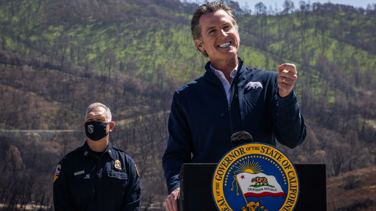 Gavin Newsom declares a drought emergency – but it's limited to two counties in California