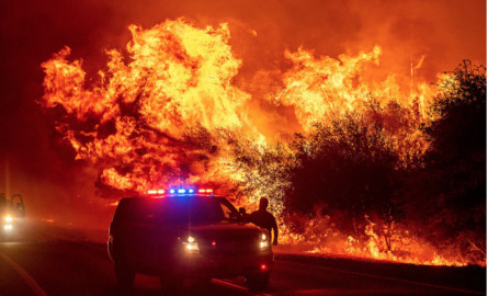 See 17 of the most eerie and dramatic California wildfire photos