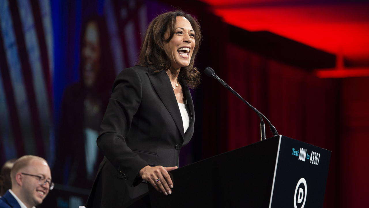 Kamala Harris embraced Peter Thiel's 'Big Data' tech in California. How about as president?