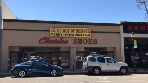 Charles Shoes is closing after 53 years in downtown SLO — and it's holding a huge sale