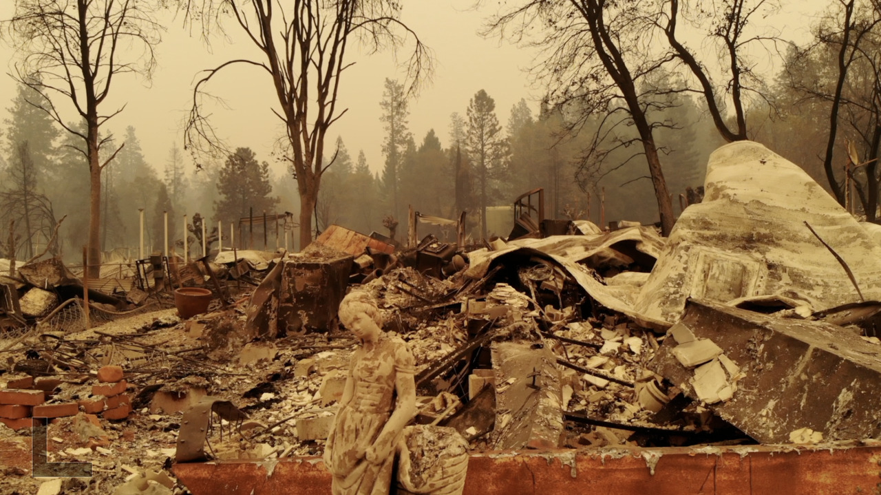 Power lines keep sparking wildfires. Why don't California utility companies bury them?