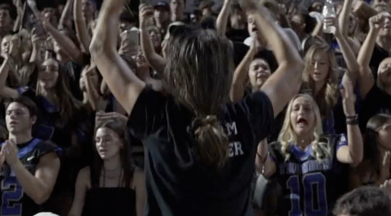 High school rooting sections: Loud, proud organized chaos are backdrop at football games
