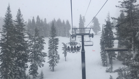 See fresh powder accumulate at Squaw Valley