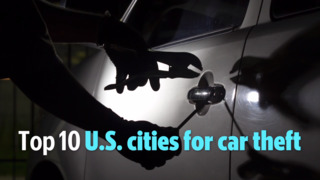 See the top 10 U.S. cities for car theft: California claims half