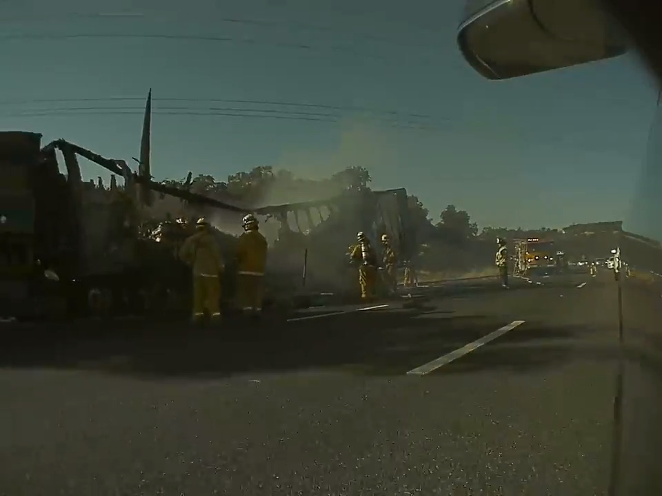 CHP ramping up enforcement on I-80 after semi-truck fires spread to roadside brush