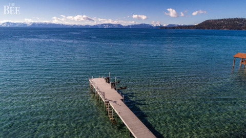 This stunning Lake Tahoe home set sales record for Incline Village