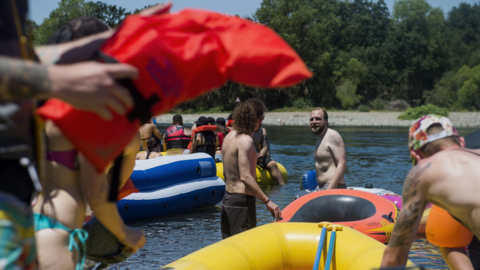 Sacramento County parks bans alcohol on American River ahead of Rafting Gone Wild event