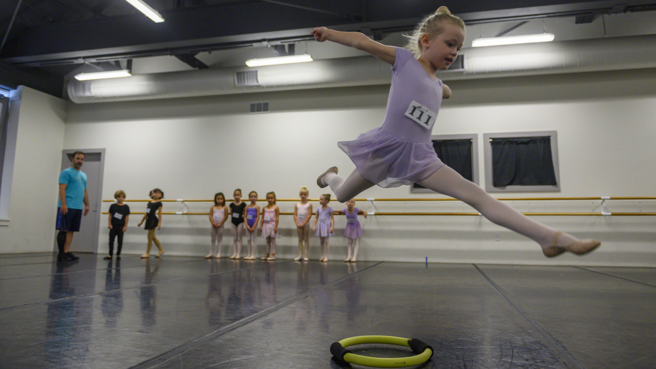 Christmas comes early as Sacramento Ballet holds children's auditions for Nutcracker