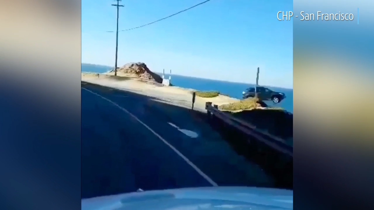More proof emerges that car flew off California cliff — but mystery remains unsolved