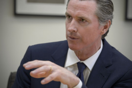 Gavin Newsom on housing, economic inequality and other key campaign issues