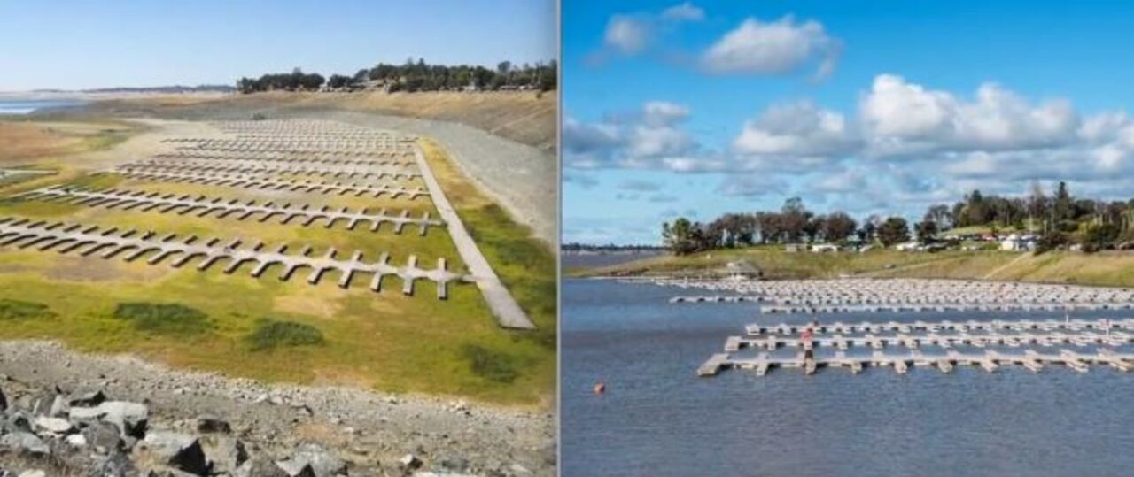 California's water year starts with a large increase in reservoir storage. Here's why