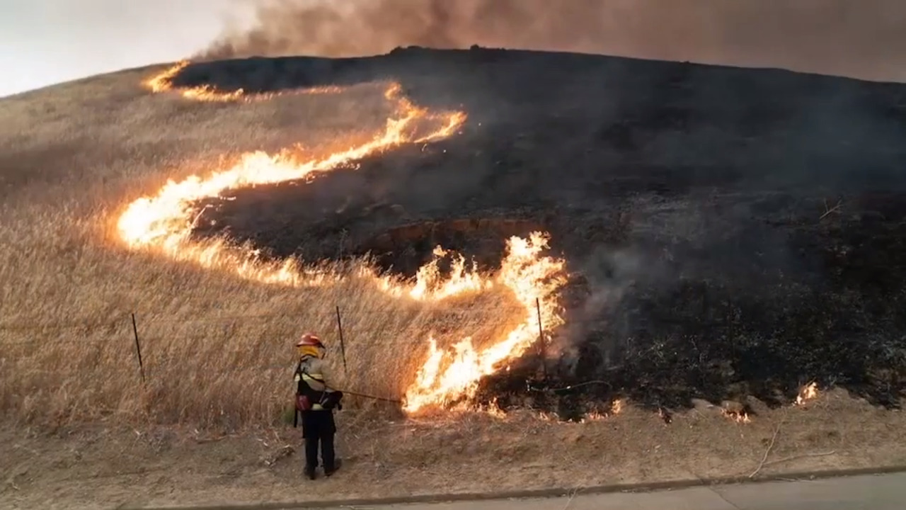 How highways remain clear, open as wildfires rage
