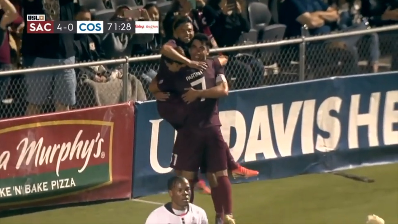 Watch Jesuit High grad's highlight reel on night he ties Sac Republic FC record