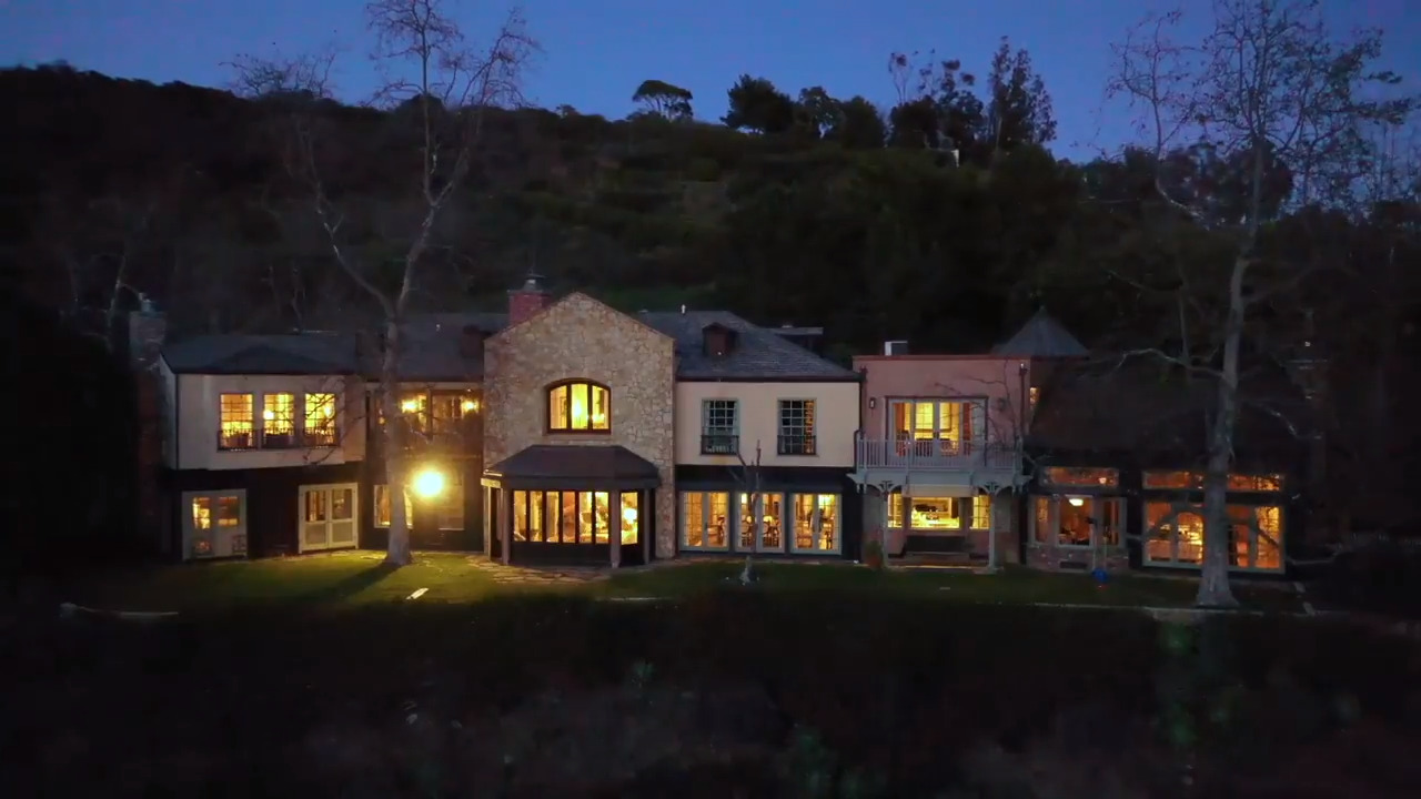 Owned by Mel Giblson, one of Malibu's 'most beautiful estates' for sale at $14.5 million.