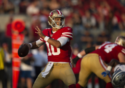 Jimmy Garoppolo talks about his play against the Cowboys