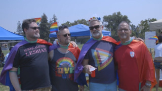 Dixon hosts its first Gay Pride rally