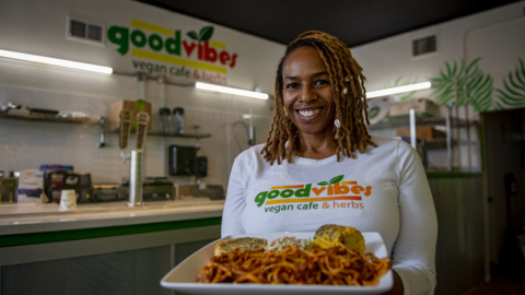 Good Vibes creates vegan eats with a soul-food twist in Sacramento ghost kitchens