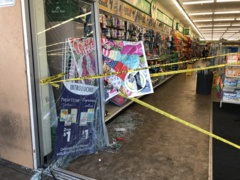 Six people injured after woman drives through south Sacramento storefront