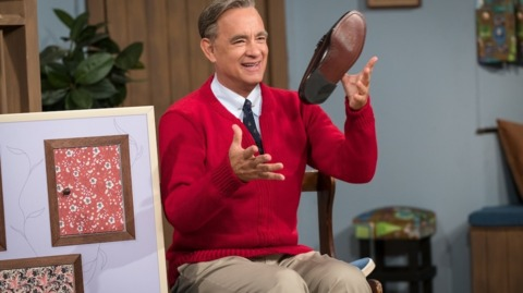 Here's Tom Hanks playing Mister Rogers in new movie trailer