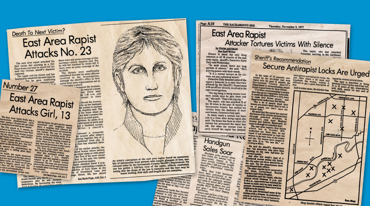 In the 1970s, the East Area Rapist stole Sacramento's innocence