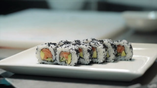 Watch how to make your own sushi in less than two minutes