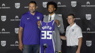 Kings introduce Marvin Bagley III: 'I've worked my whole life for this'