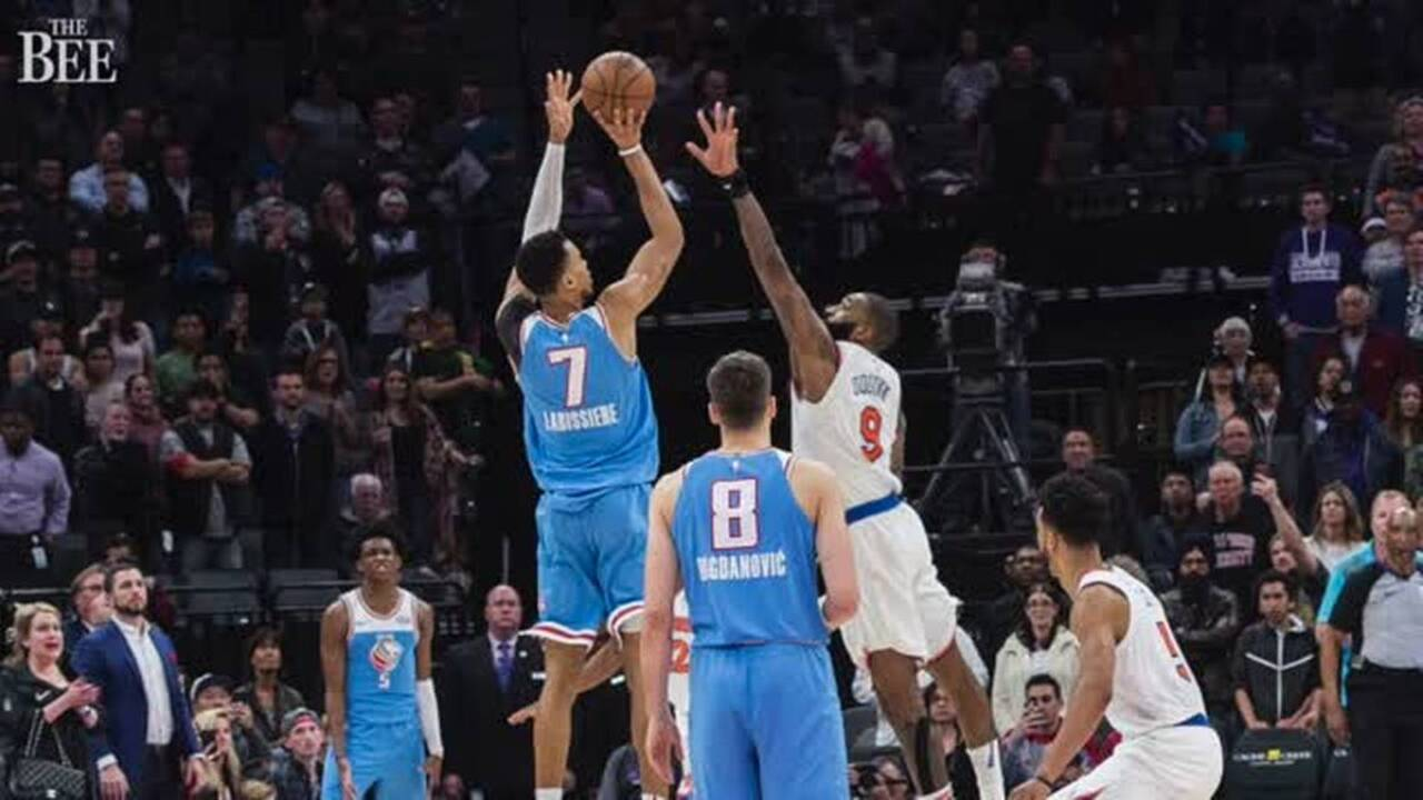 d23713bd7b0 Confident Labissiere caught the Knicks – and his Kings teammates – off  guard in a win