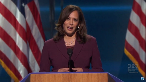 Fact check: Kamala Harris blamed Trump for the recession. Is she right?