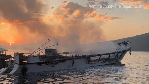 NTSB: All crew members were asleep at time of deadly dive boat fire