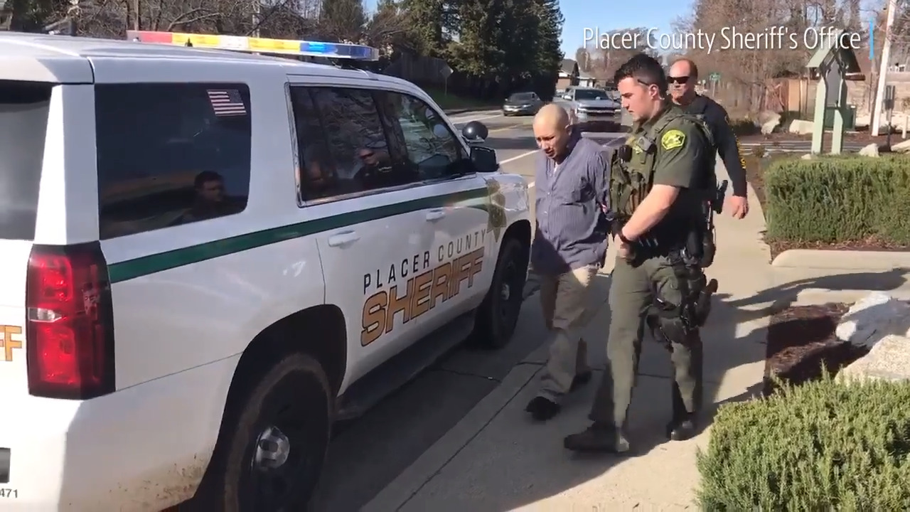 Watch Placer County Sheriff arrest suspect in theft from