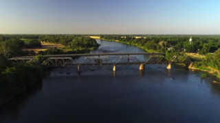 Take a beautiful flight over the Sacramento River at Mill Creek in Tehama County