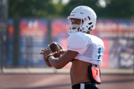 Folsom QB goes to work in weight room, pumped up for De La Salle game