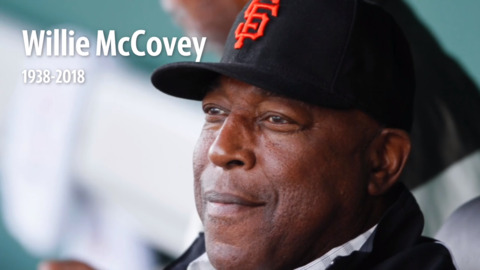 A look back at the remarkable Willie McCovey, San Francisco Giants slugger
