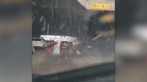 See the hail storm that surprised the heck out of Los Angeles residents