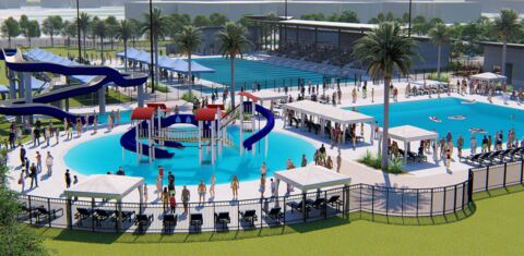 Water slides, cabanas, pools: $45 million aquatic center coming to this Sacramento community