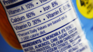 How the market for milk – almond or 'real' – has changed