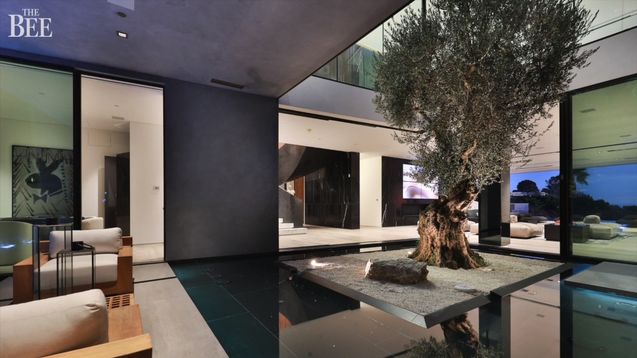 Cascading water, marble bridges: Beverly Hills home is $65 million (Bitcoin accepted)