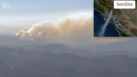 Timelapse shows ferocity of Glass Fire burning in Napa County