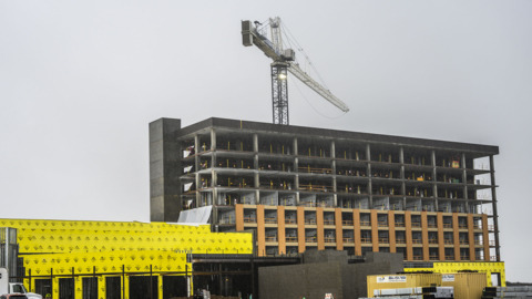 Hard Rock Wheatland casino places final beam, hopeful for late 2019 opening