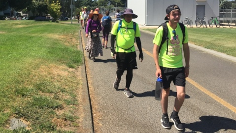 Animal rights activists march from San Francisco to Sacramento, seeking 'right to rescue'