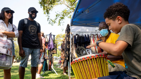 See Juneteenth celebration, marking end of slavery, at William Land park in Sacramento