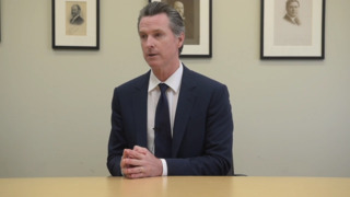 Gavin Newsom and Antonio Villaraigosa on single-payer healthcare