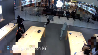 See security footage of thefts in Apple Stores across the U.S.