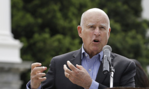 Jerry Brown slams 'shocking, despicable' immigration debate